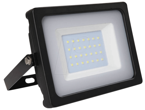 Προβολέας LED 30W Slim 3000K-Θερμό Λευκό SMD V-TAC 5813 Μαύρος