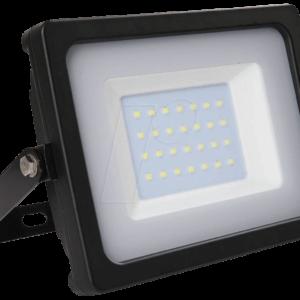 Προβολέας LED 30W Slim 4000K-Ουδέτερο Λευκό SMD V-TAC 5814 Μαύρος