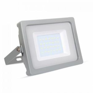 Προβολέας LED 30W Slim 6400K-Ψυχρό Λευκό SMD V-TAC 5818 Γκρί