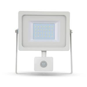 Προβολέας LED 30W Sensor 6400K-Ψυχρό Λευκό SMD V-TAC 5824 Λευκός