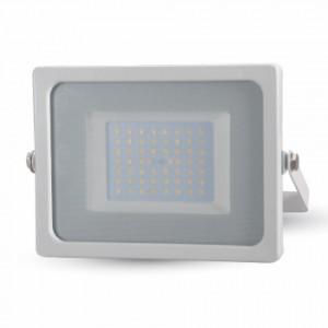 Προβολέας LED 50W Slim 6400K-Ψυχρό Λευκό SMD V-TAC 5827 Λευκός