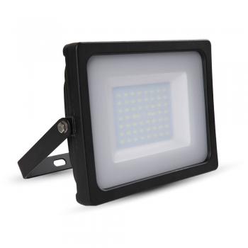 Προβολέας LED 50W Slim 3000K-Θερμό Λευκό SMD V-TAC 5831 Μαύρος
