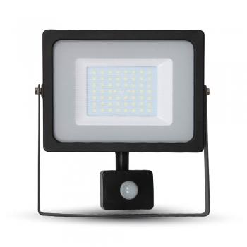 Προβολέας LED 50W Sensor 4000K-Ουδέτερο Λευκό SMD V-TAC 5838 Μαύρος