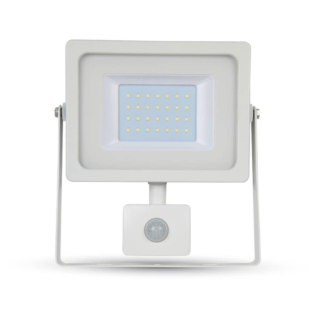 Προβολέας LED 50W Sensor 4000K-Ουδέτερο Λευκό SMD V-TAC 5841 Λευκός