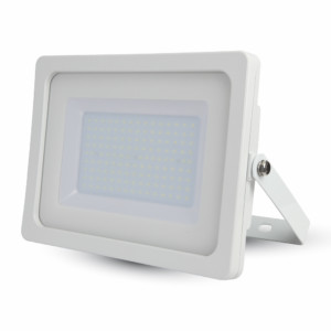 Προβολέας LED 100W Slim 3000K-Θερμό Λευκό SMD V-TAC 5843 Λευκός