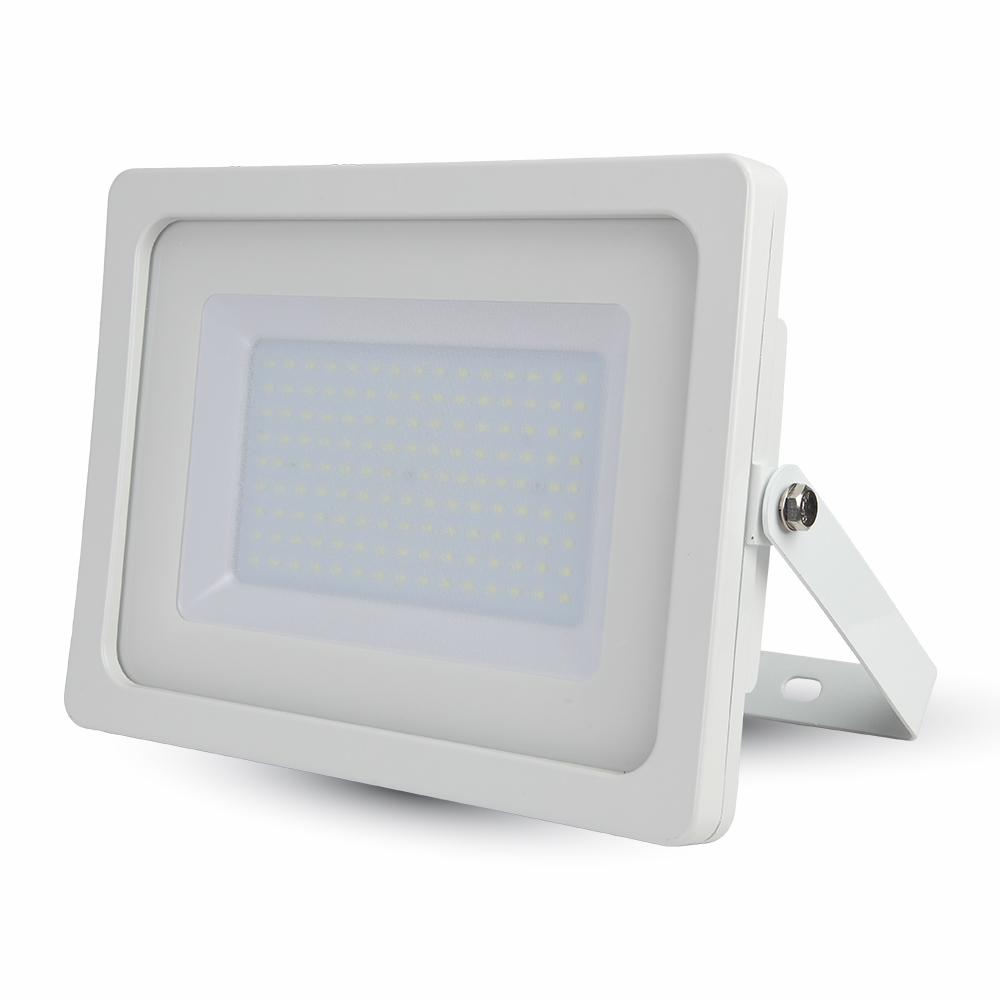 Προβολέας LED 100W Slim 4000K-Ουδέτερο Λευκό SMD V-TAC 5844 Λευκός