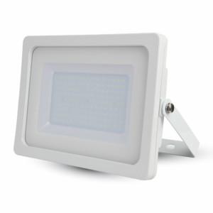 Προβολέας LED 100W Slim 6400K-Ψυχρό Λευκό SMD V-TAC 5845 Λευκός