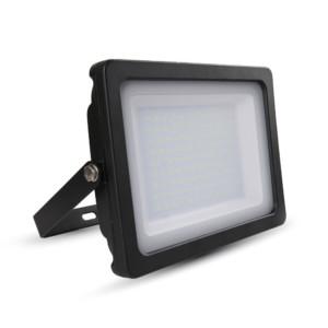 Προβολέας LED 100W Slim 3000K-Θερμό Λευκό SMD V-TAC 5849 Μαύρος