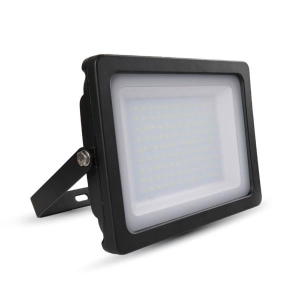 Προβολέας LED 100W Slim 4000K-Ουδέτερο Λευκό SMD V-TAC 5850 Μαύρος