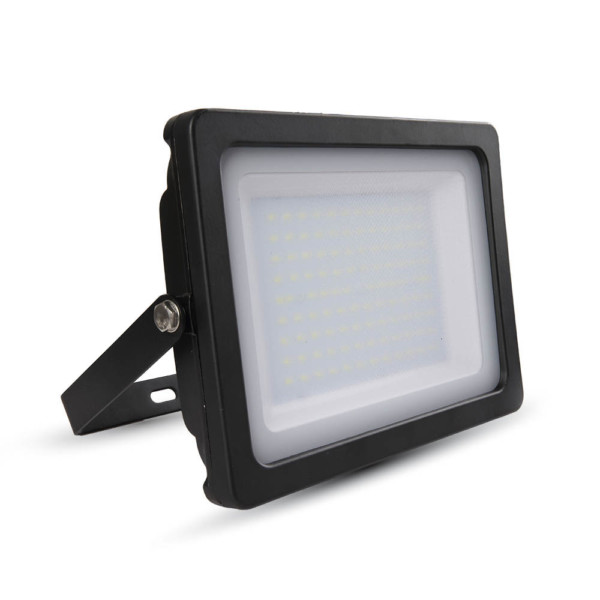 Προβολέας LED 100W Slim 6400K-Ψυχρό Λευκό SMD V-TAC 5851 Μαύρος