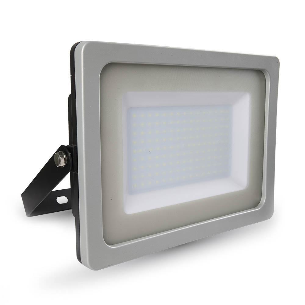 Προβολέας LED 150W Slim 3000K-Θερμό Λευκό SMD V-TAC 5858 Γκρί-Μαύρος