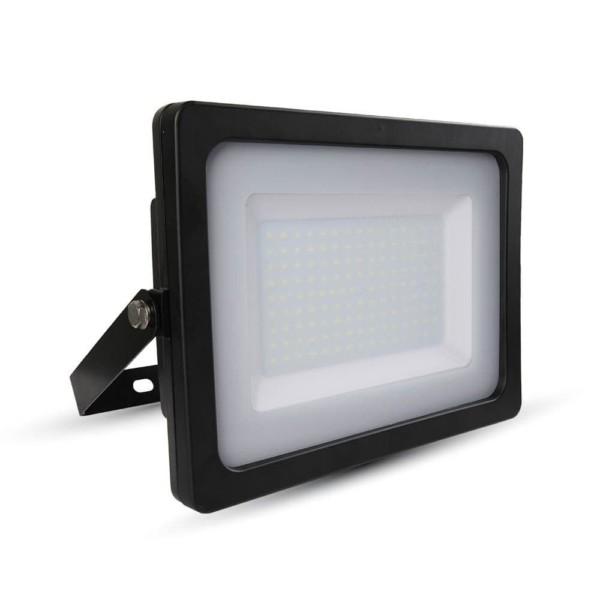 Προβολέας LED 150W Slim 3000K-Θερμό Λευκό SMD V-TAC 5861 Μαύρος