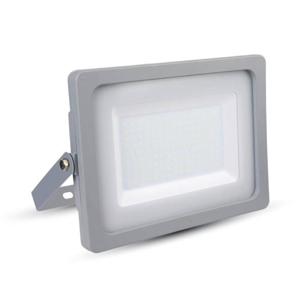 Προβολέας LED 150W Slim 4000K-Ουδέτερο Λευκό SMD V-TAC 5865 Γκρί