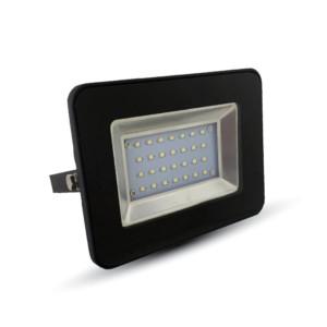 Προβολέας LED 20W Slim 3000K-Θερμό Λευκό SMD V-TAC 5878 Μαύρος