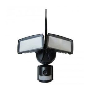 Προβολέας LED 18W WiFi Με Sensor Κάμερα 6000K-Ψυχρό Λευκό V-TAC 5917 Μαύρος