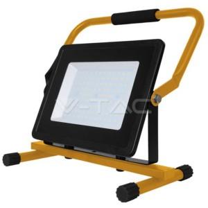 Προβολέας LED 100W Φορητός 6400K-Ψυχρό Λευκό V-TAC 5932