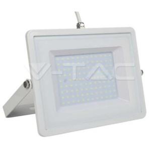 Προβολέας LED 100W 3000K-Θερμό Λευκό V-TAC 5970 Λευκός