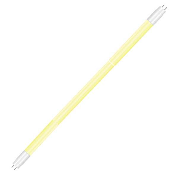 Λάμπα Σωληνωτή Led Γυάλινη Κίτρινη T8 18w 1530lm G13 για Αρτοποιεία V-Tac 6322