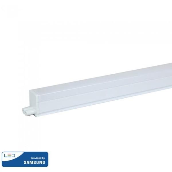 LED Γραμμικό 30εκ Φωτιστικό με Διακόπτη 4W T5 Samsung Chip 6400K Ψυχρό Λευκό V-Tac 691