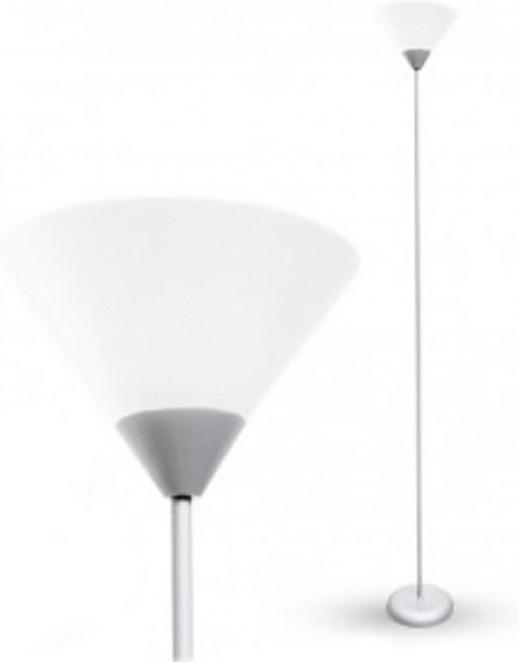 Φωτιστικό Δαπέδου Μεταλλικό Ασημί V-TAC 7056