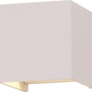 Φωτιστικό Τοίχου-Σποτ Led 6W 3000K Αλουμινίου IP65 Λευκό V-TAC 7079