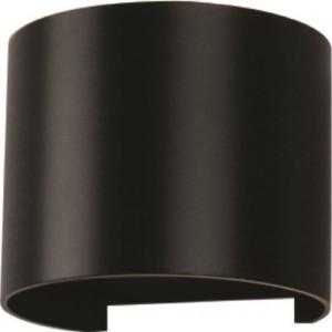 Φωτιστικό Τοίχου-Σποτ Led 6W 3000K Αλουμινίου IP65 Μαύρο V-TAC 7081