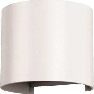 Φωτιστικό Τοίχου-Σποτ Led 6W 3000K Αλουμινίου IP65 Λευκό V-TAC 7082