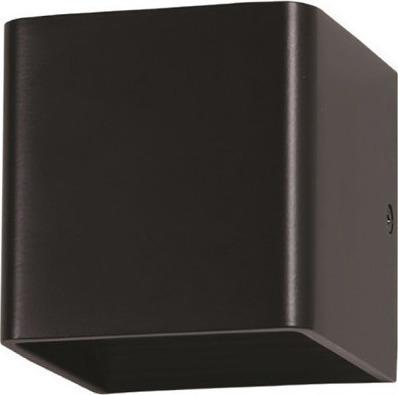 Φωτιστικό Τοίχου-Σποτ Led 5W 3000K Αλουμινίου IP44 Μαύρο V-TAC 7084
