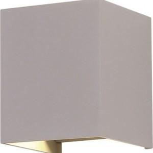 Φωτιστικό Τοίχου-Σποτ Led 6W 4000K Αλουμινίου IP65 Γκρί V-TAC 7089