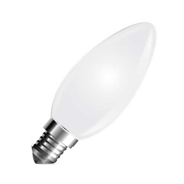 Λάμπα Κερί Led 4W 2700K Θερμό Λευκό E14