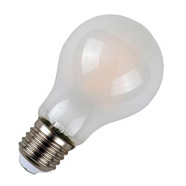 Λάμπα Αχλάδι Led 7W 6400K Ψυχρό Λευκό A60 E27