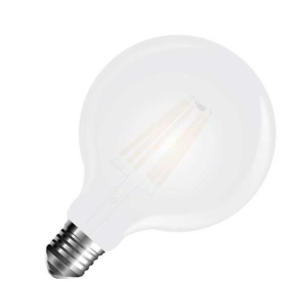 Λάμπα Globe Led 7W 6400K Ψυχρό Λευκό G125 E27