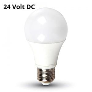 Λάμπα Led 9W 6400K Ψυχρό Λευκό DC 24V A60 E27