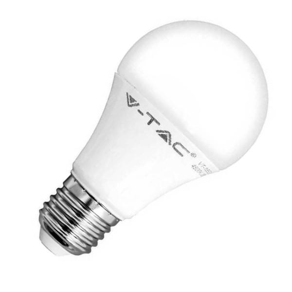 Λάμπα Led 9W E27 Θερμοπλαστική Κλασσική 2700K V-Tac 7260 806 lumens
