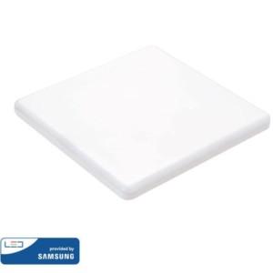 LED Mini Panel Τετράγωνο 12W SMD 85-265V Αλουμινίου Ρυθμιζόμενης Κοπής Samsung Chip Θερμό Λευκό 3000K V-Tac 730