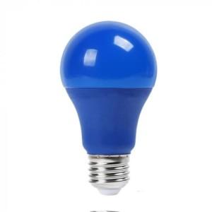 Λάμπα Χρωματιστή Led 9W Μπλε A60 E27 V-Tac 7344