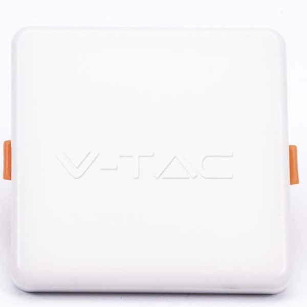 LED Mini Panel Τετράγωνο 18W SMD 85-265V Αλουμινίου Ρυθμιζόμενης Κοπής Samsung Chip Ουδέτερο Λευκό 4000K  V-Tac 743