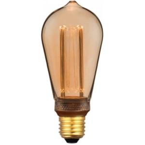 Λάμπα Led Filament Retro Avocado ST64 4W Θερμό Λευκό 1800K Νήματος E27 7474 V-Tac