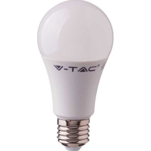 LED Λάμπα 10W E27 A60 SMD CRI 95+ Ουδέτερο Λευκό 4000K V-Tac 7480