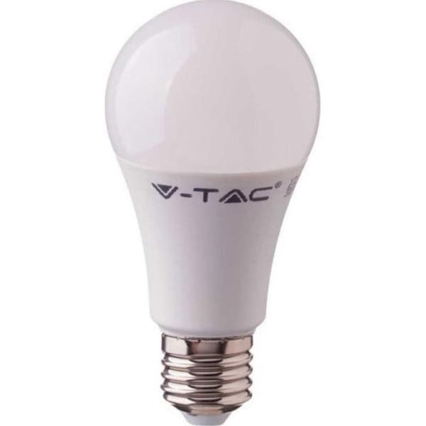 LED Λάμπα 10W E27 A60 SMD CRI 95+ Ψυχρό Λευκό 6400K V-Tac 7481