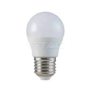 LED Λάμπα 5.5W E27 G45 Σφαιρική CRI 95+ Ουδέτερο Λευκό 4000Κ V-Tac 7492