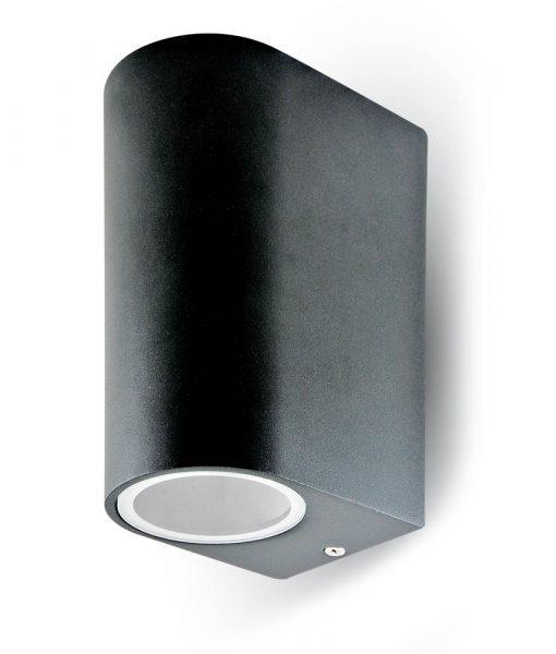 Φωτιστικό Σποτ 2xGU10 Αλουμίνιο Χρώμιο V-TAC 7509