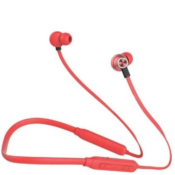 Ακουστικά Bluetooth Sports Hands-Free Με Καλώδιο 500mAh Κόκκινο για Κινητά V-TAC 7711