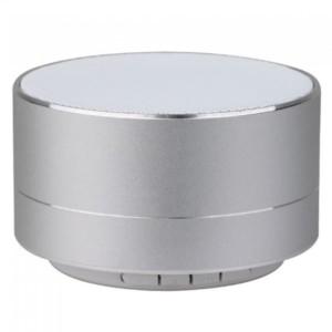 Φορητό Μίνι Ηχείο Bluetooth 3W Ασημί για TF Κάρτα και Ενσωματωμένο Μικρόφωνο V-Tac 7713