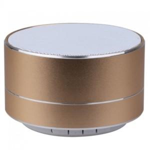 Φορητό Μίνι Ηχείο Bluetooth 3W Χρυσό για TF Κάρτα και Ενσωματωμένο Μικρόφωνο V-Tac 7714