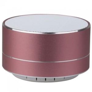Φορητό Μίνι Ηχείο Bluetooth 3W Ροζ Χαλκός για TF Κάρτα και Ενσωματωμένο Μικρόφωνο V-Tac 7715