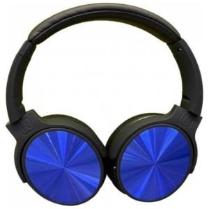Ασύρματα Ακουστικά Περιστρεφόμενα Bluetooth Κεφαλής 500mAh Μπλέ V-TAC 7728