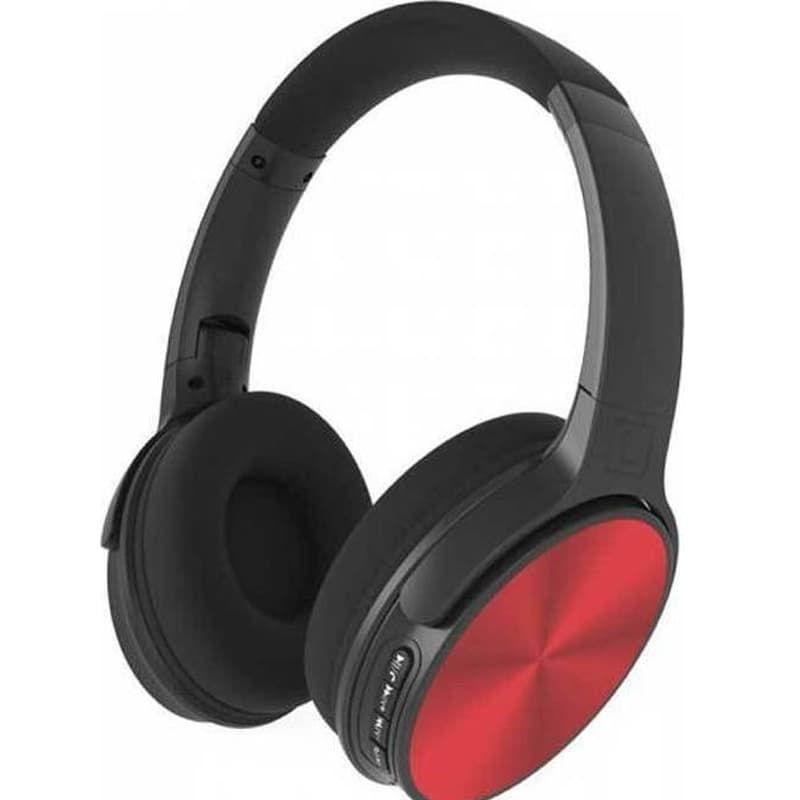Ασύρματα Ακουστικά Περιστρεφόμενα Bluetooth Κεφαλής 500mAh Κόκκινα V-TAC 7729