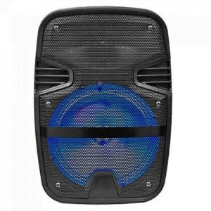 Φορητό Ηχείο Bluetooth 15W Καραόκε Μαύρο Με ενσύρματο μικρόφωνο και RF Χειριστήριο (TWS) 2200mAh V-Tac 7735
