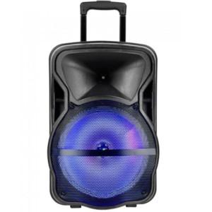 Φορητό Ηχείο Bluetooth 35W RGB Μαύρο Με ενσύρματο μικρόφωνο και Χειριστήριο 2200mAh V-Tac 7737